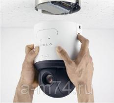 Монтаж видеокамер внутри помещения