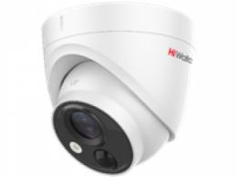 2Мп купольная HD-TVI видеокамера с PIR-датчиком и EXIR подсветкой до 20м DS-T213(B)