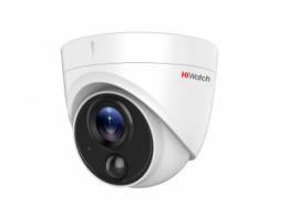 5 Мп купольная HD-TVI видеокамера с EXIR-подсветкой до 20 м и PIR-датчиком DS-T513