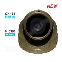 Сферическая антивандальная миниатюрная AHD видеокамера SOWA T120-21NA