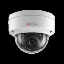 Уличная купольная IP камера 1Мп HiWatch DS-I102