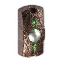 Кнопка выхода ЦИКЛОП. Накладная, металлическая, с индикацией, 40х80х25 мм.