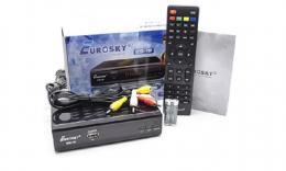 Ресивер цифровой Eurosky ES-18 DVB-T2/C/Wi-Fi