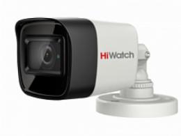 8 Мп цилиндрическая HD-TVI камера с EXIR-подсветкой до 30м DS-T800