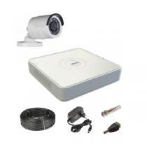 Комплект видеонаблюдения на 1  уличную Tvi-HD камеру 2Мп
