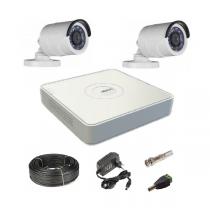 Комплект видеонаблюдения на 2 уличные Tvi-HD камеры 2Мп