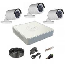 Комплект видеонаблюдения на 3 уличные Tvi-HD камеры 2Мп