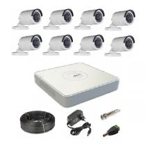 Комплект видеонаблюдения на 8 уличных Tvi-HD камер 2Мп