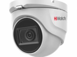 5 Мп купольная HD-TVI видеокамера с EXIR-подсветкой до 30 м и микрофоном DS-T503A