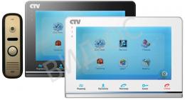 IP Wi-Fi Видеодомофон цветной + вызывная панель CTV-DP2700IP