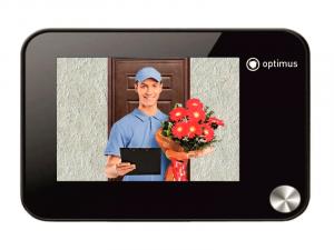 Видеоглазок с дисплеем, Optimus DB-01