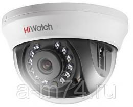 Купольная HD-TVI видеокамера Hikvision HiWatch DS-T201, 2Mp