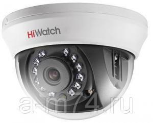 Купольная HD-TVI видеокамера Hikvision HiWatch DS-T201, 2Mp