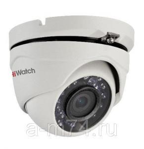 Антивандальная HD-TVI видеокамера Hikvision HiWatch DS-T203, 2Mp