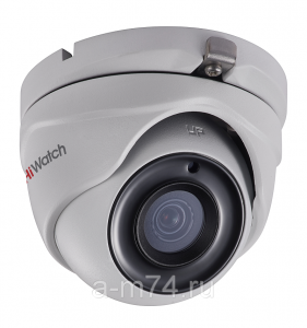 Антивандальная HD-TVI видеокамера Hikvision HiWatch DS-T303, 3Mp