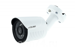 Уличная видеокамера 1Мр, CVBS / CVI / TVI / AHD, DiviSat DVC-S19