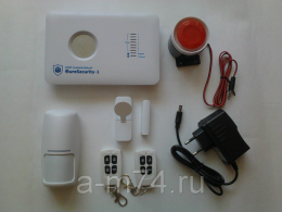 """Беспроводная GSM сигнализация """"EuroSecurity-1"""" (ES-1) с функцией """"Умный Дом"""""""