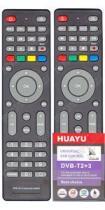 Универсальный пульт для приставок DVB-T2+3 HUAYU