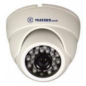 Купольная камера 1Мр AHD, MATRIX MT-DW720AHD20X