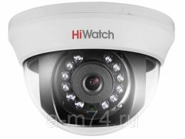 Внутренняя купольная HD-TVI камера DS-T101, 1Mp