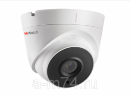 Уличная купольная HD-TVI камера 2 Мп HiWatch DS-T203P