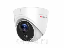 Уличная купольная HD-TVI камера 2 Мп HiWatch DS-T213
