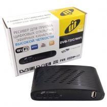 Ресивер эфирный цифровой DVB-T2/C/WiFi Lit Combo 2