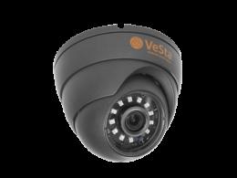 Видеокамера AHD/TVI/CVI/CVBS VeSta VC-2467 (М - 106), 2 МР
