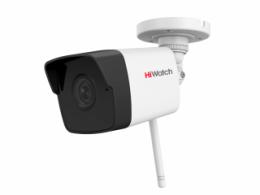 2Мп цилиндрическая IP-видеокамера с EXIR-подсветкой до 30 м, Wi-Fi и микрофоном DS-I250W(B)