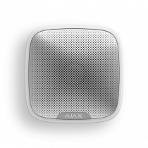 Беспроводная уличная светозвуковая сирена Ajax StreetSiren white