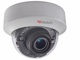 5Мп купольная HD-TVI видеокамера с EXIR-подсветкой до 40м DS-T507(C)