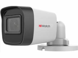5Мп уличная цилиндрическая HD-TVI камера с EXIR-подсветкой до 30м DS-T500(C) 2.4 mm