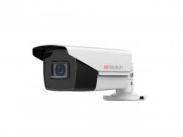 2Мп цилиндрическая HD-TVI видеокамера с EXIR-подсветкой до 50 м DS-T220S(B)
