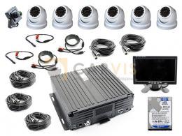 Комплект видеонаблюдения для инкасcаторского автомобиля