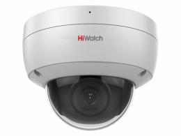 2 Мп купольная IP-видеокамера с EXIR-подсветкой до 30м и микрофоном DS-I252M