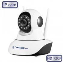 Видеокамера Компактная поворотная 1.0MP, MATRIX MT-PTZ720IP8 Wi-Fi