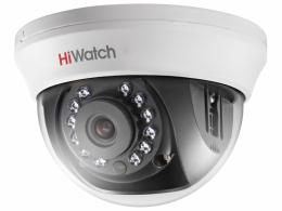 2Мп купольная HD-TVI видеокамера с ИК-подсветкой до 20м  DS-T201(B)