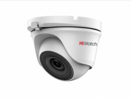 2Мп купольная HD-TVI видеокамера с EXIR-подсветкой до 30 м DS-T203S