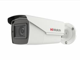 Уличная цилиндрическая вариофакальная HD-TVI камера 5 Мп HiWatch DS-T506(C)